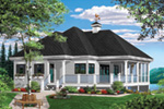 Waterfront House Plan Front Photo 05 - 032D-0801 | House Plans and More