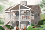 Country House Plan Color Image of House - 032D-0803 | House Plans and More