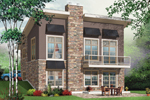 Ranch House Plan Front Image - 032D-0804 | House Plans and More