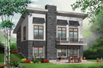 Ranch House Plan Front of Home - 032D-0804 | House Plans and More
