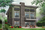 Ranch House Plan Front Photo 01 - 032D-0804 | House Plans and More