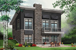 Ranch House Plan Front Photo 02 - 032D-0804 | House Plans and More