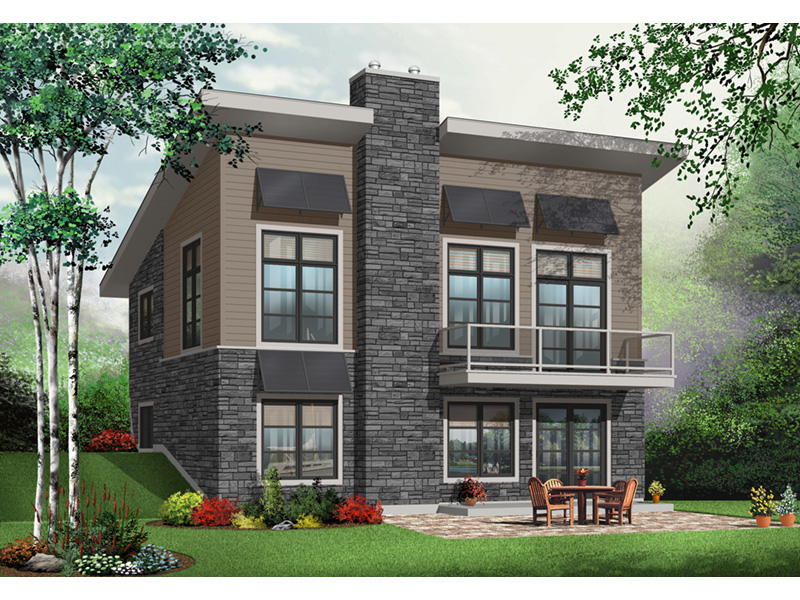 Ranch House Plan Front Photo 03 - 032D-0804 | House Plans and More