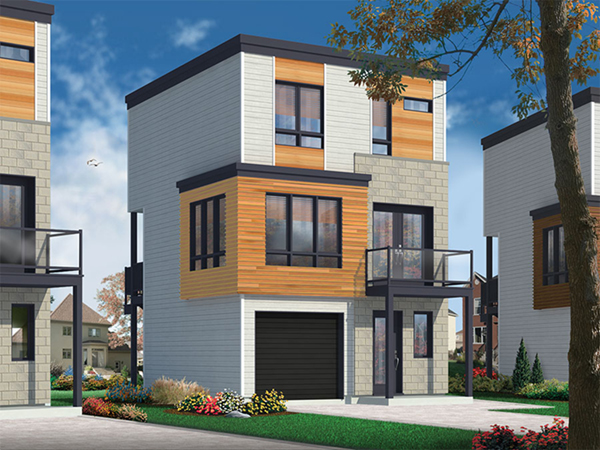 Saffold Modern Home Plan 032D-0807 | House Plans and More