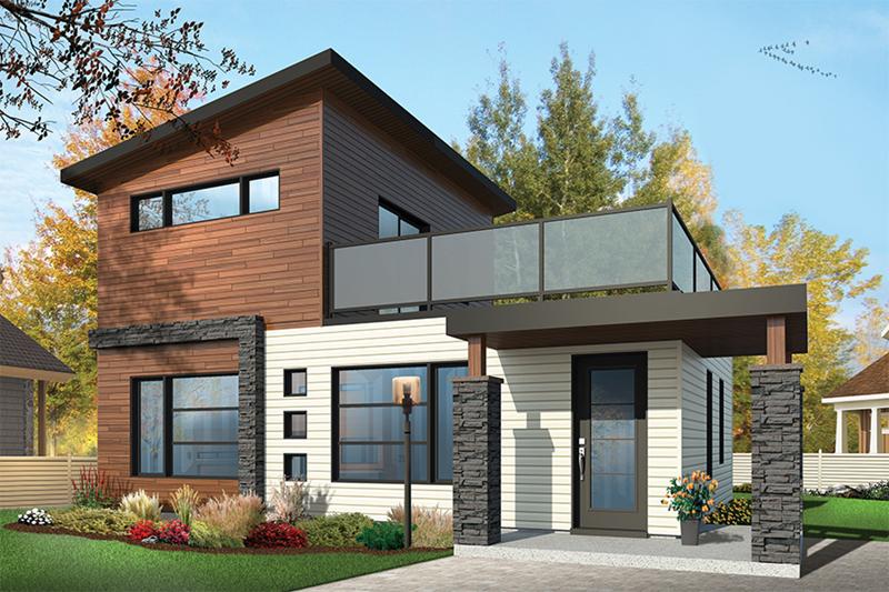 Sundari contemporary home house plan