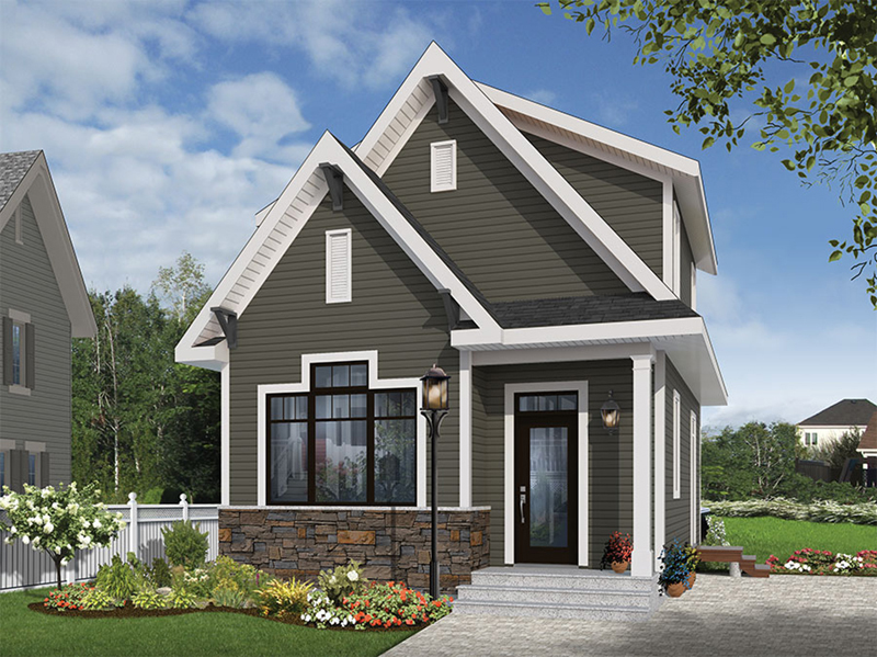 Wickham Small Traditional Home Plan 032D-0812 | House Plans And More