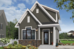 English Cottage House Plan Front of Home - 032D-0812 | House Plans and More