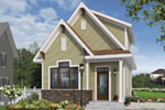 English Cottage House Plan Front Photo 01 - 032D-0812 | House Plans and More
