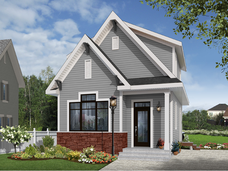 English Cottage House Plan Front Photo 02 - 032D-0812 | House Plans and More