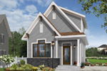 English Cottage House Plan Front Photo 03 - 032D-0812 | House Plans and More