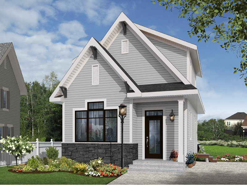 English Cottage House Plan Front Photo 04 - 032D-0812 | House Plans and More