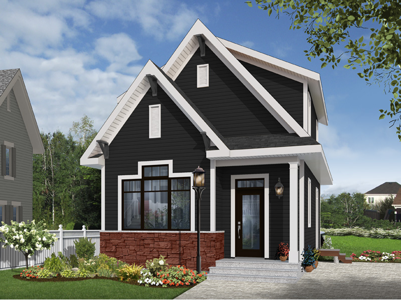 English Cottage House Plan Front Photo 05 - 032D-0812 | House Plans and More