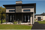 Rustic Home Plan Front of Home - 032D-0813 | House Plans and More