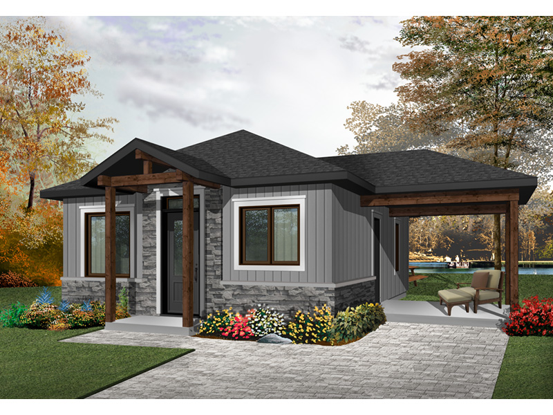 Craftsman House Plan Front Photo 01 - 032D-0815 | House Plans and More
