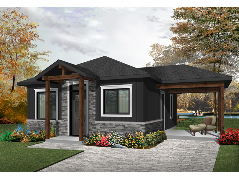 Craftsman House Plan Front Photo 02 - 032D-0815 | House Plans and More