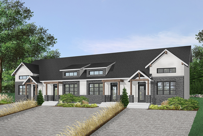 Arts & Crafts House Plan Front of Home - 032D-0821 | House Plans and More