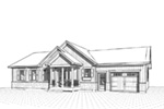 Country House Plan Front Image of House - 032D-0823 | House Plans and More