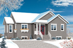 Ranch House Plan Front Photo 01 - 032D-0824 | House Plans and More