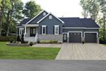 Southern House Plan Front of Home - 032D-0825 | House Plans and More