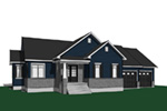 Southern House Plan Front Photo 01 - 032D-0825 | House Plans and More