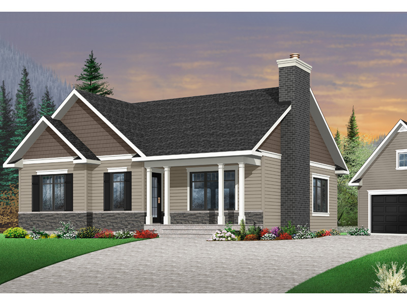 Shingle House Plan Front Photo 02 - 032D-0832 | House Plans and More