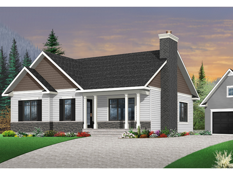 Shingle House Plan Front Photo 04 - 032D-0832 | House Plans and More