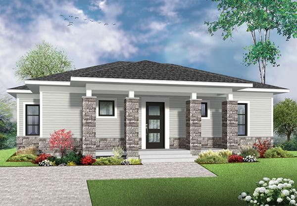 Laney Prairie Style Ranch Home Plan 032d 0833 House