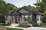 Prairie Style Floor Plan Front Photo 02 - 032D-0835 | House Plans and More