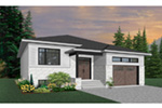 Ranch House Plan Front Photo 02 - Moxie Modern Prairie Home 032D-0839 | House Plans and More