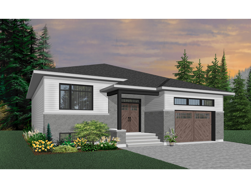 Ranch House Plan Front Photo 05 - Moxie Modern Prairie Home 032D-0839 | House Plans and More