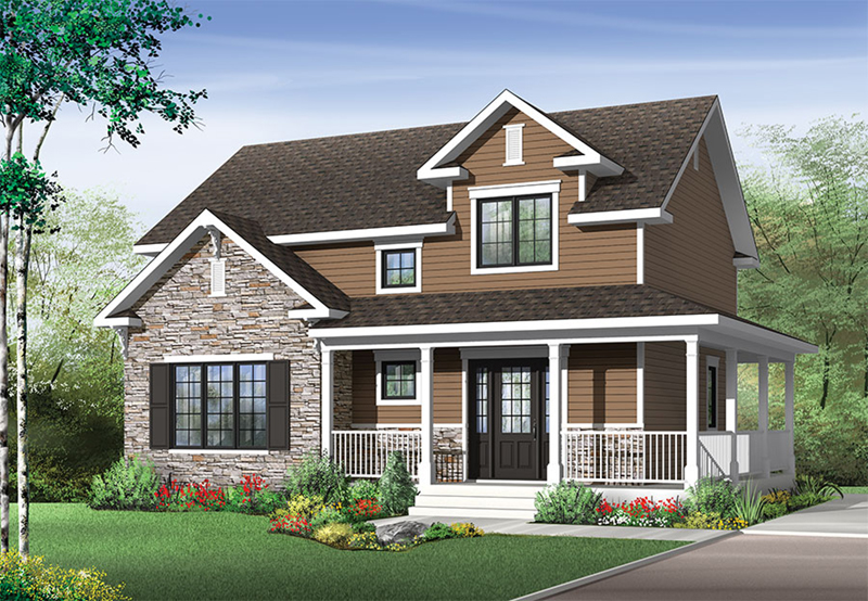 Front of Home - 032D-0852 | House Plans and More