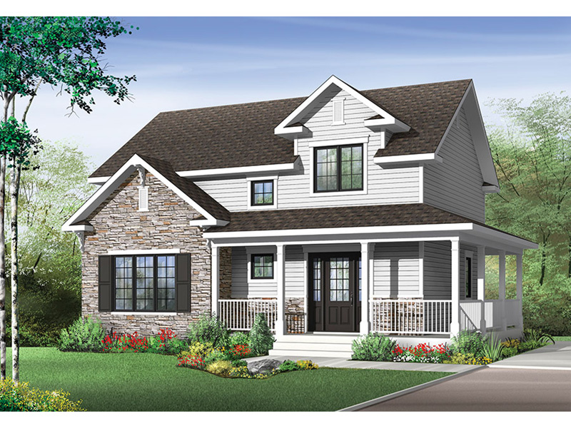 Front Photo 01 - 032D-0852 | House Plans and More