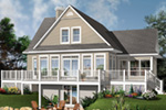Rear Photo 01 - 032D-0859 | House Plans and More