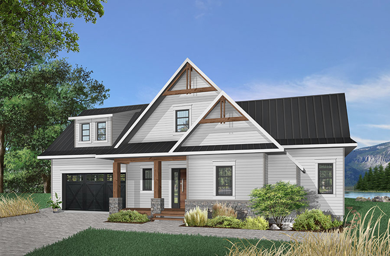 Front of Home - 032D-0860 | House Plans and More