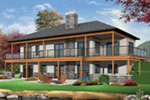 Ranch House Plan Rear Photo 01 - 032D-0862 | House Plans and More