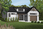 Front of Home - Urban Valley 032D-0877 | House Plans and More