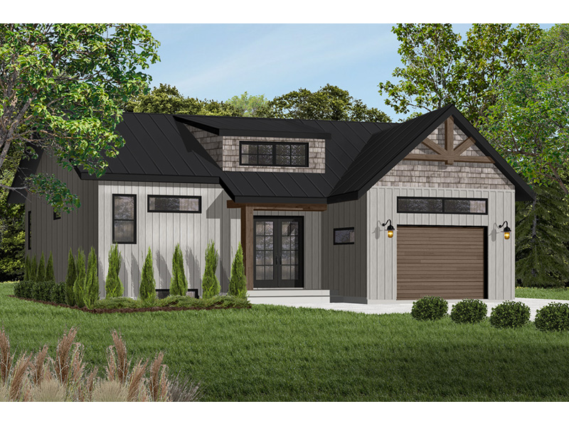 Front Photo 01 - Urban Valley 032D-0877 | House Plans and More