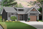 Front Photo 02 - Urban Valley 032D-0877 | House Plans and More