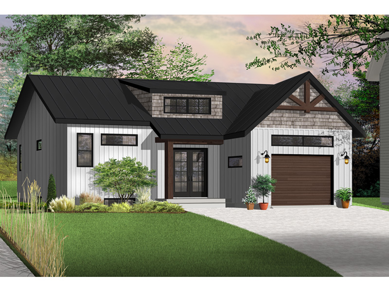 Front Photo 03 - Urban Valley 032D-0877 | House Plans and More