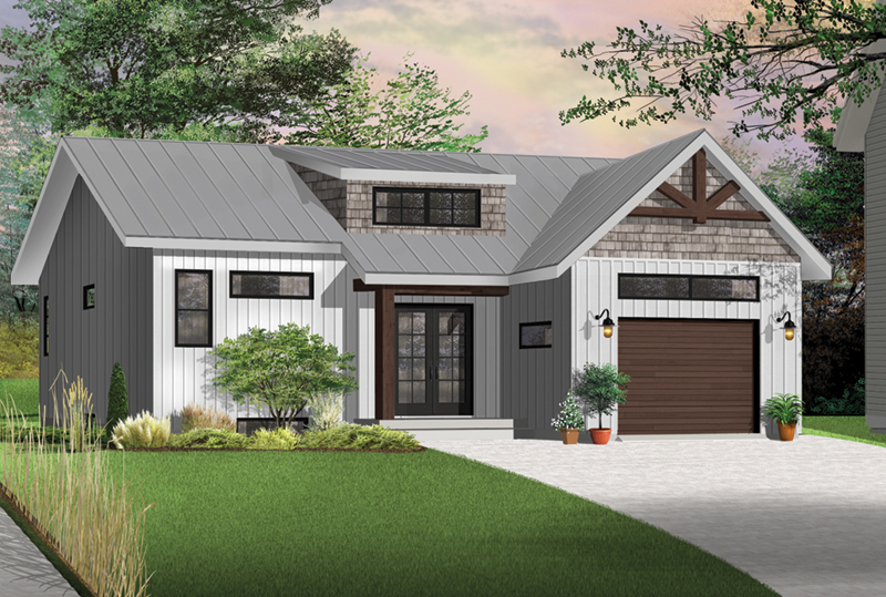 Front Photo 04 - Urban Valley 032D-0877 | House Plans and More