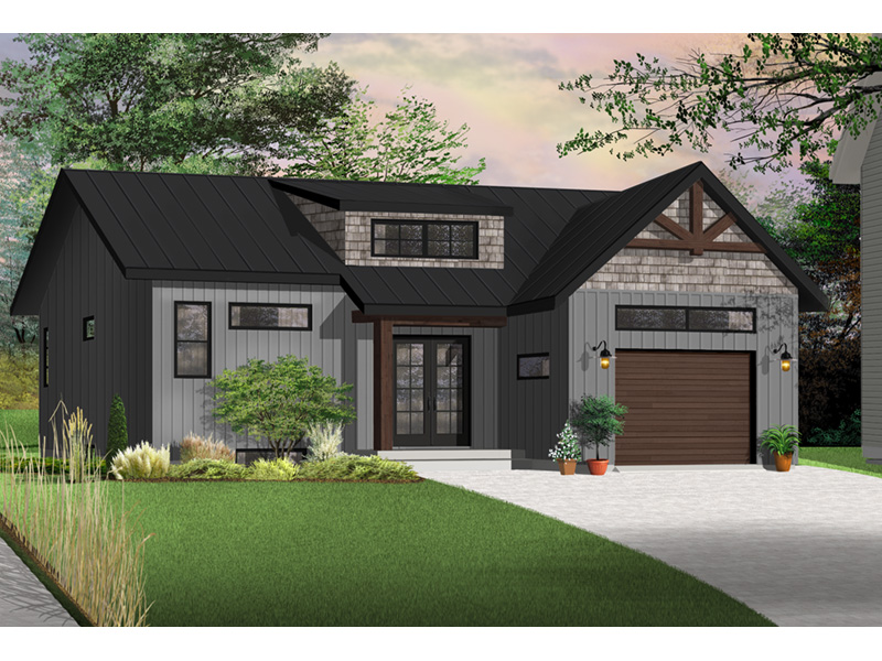Front Photo 05 - Urban Valley 032D-0877 | House Plans and More