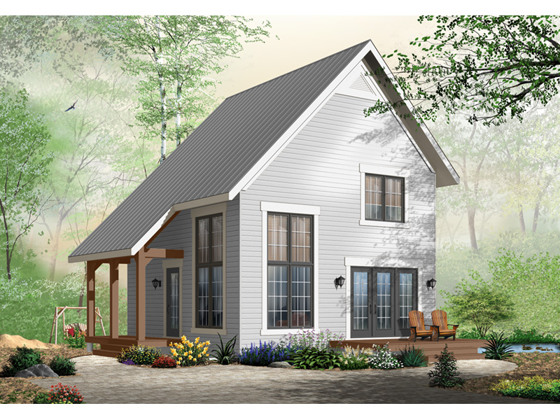 Craftsman House Plan Front Photo 01 - Ingleside Prairie Style Home 032D-0935 | House Plans and More
