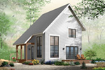 Saltbox House Plan Front Photo 01 - 032D-0935 | House Plans and More