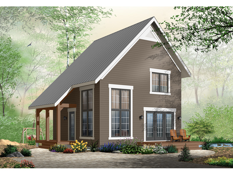Craftsman House Plan Front Photo 02 - Ingleside Prairie Style Home 032D-0935 | House Plans and More