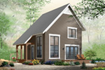 Saltbox House Plan Front Photo 02 - 032D-0935 | House Plans and More