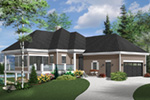 Mountain Home Plan Front Photo 01 - 032D-1087 | House Plans and More