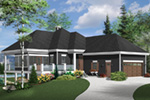 Mountain Home Plan Front Photo 02 - 032D-1087 | House Plans and More