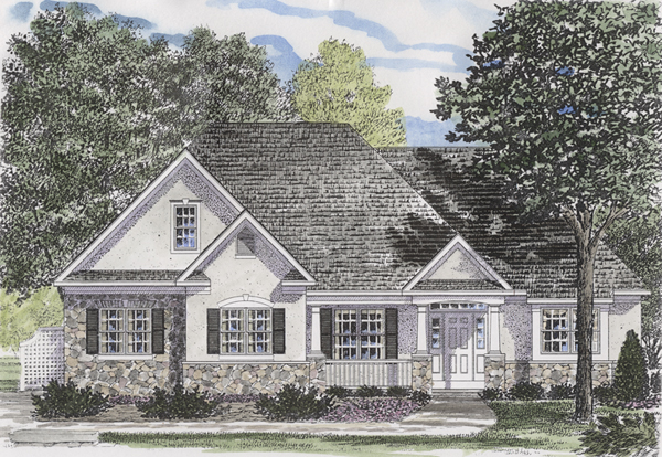 Longworth Office Building Floor Plan: Longworth Traditional Home Plan 034D-0035
