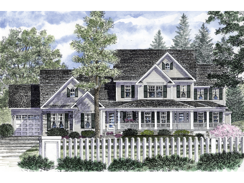 Eldorado traditional home plan 034d 0051 house plans and for Traditional farmhouse plans