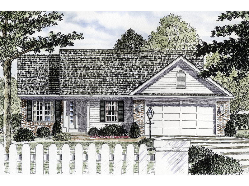 Pearcrest traditional ranch home plan 034d 0084 house for Classic ranch home plans